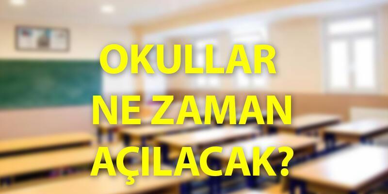 Son dakika haberi: MEB'den yeni açıklama! Okullar ne zaman açılacak 2020?