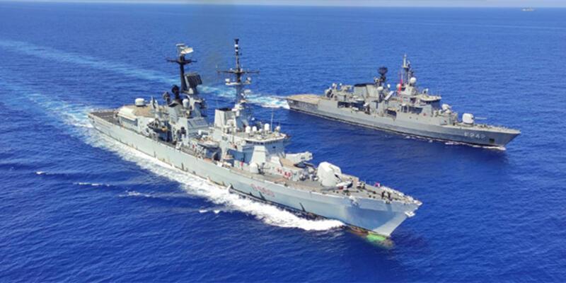 MSB: Doğu Akdeniz'de geçiş eğitimleri icra edildi