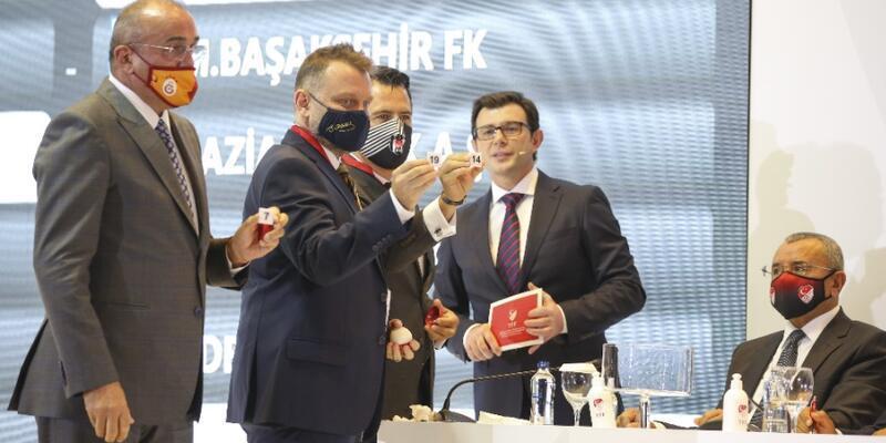 Süper Lig yeni sezon fikstürü çekildi