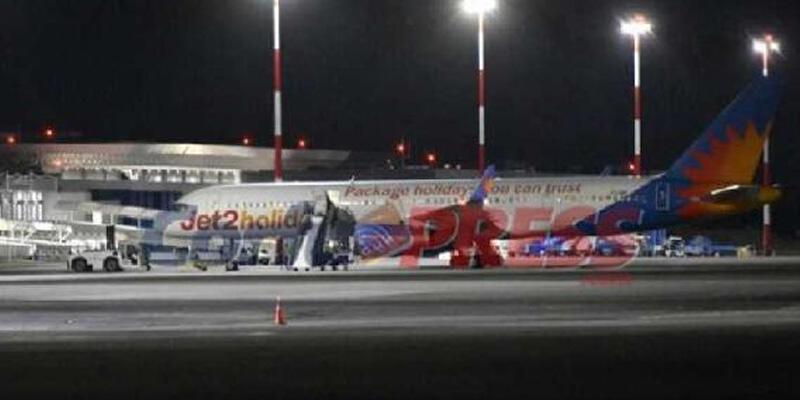 İstanbul'dan kalkan uçakta büyük panik! Yunanistan'a acil iniş yaptı