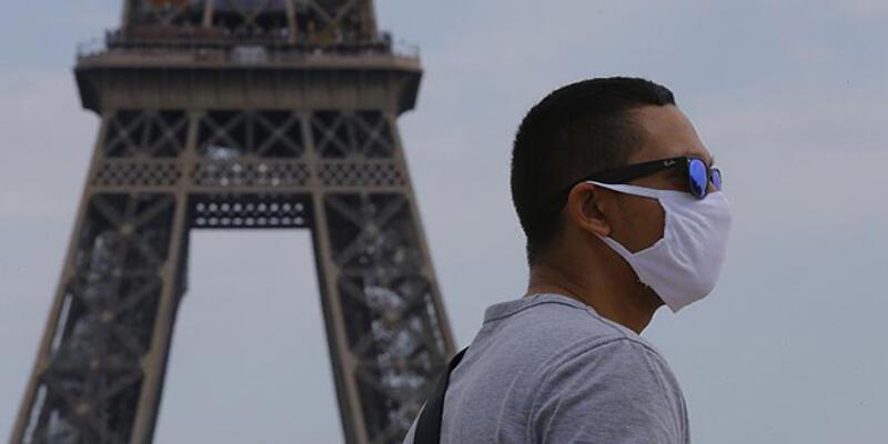Son dakika... Paris'te maske kullanım zorunluluğu getirildi