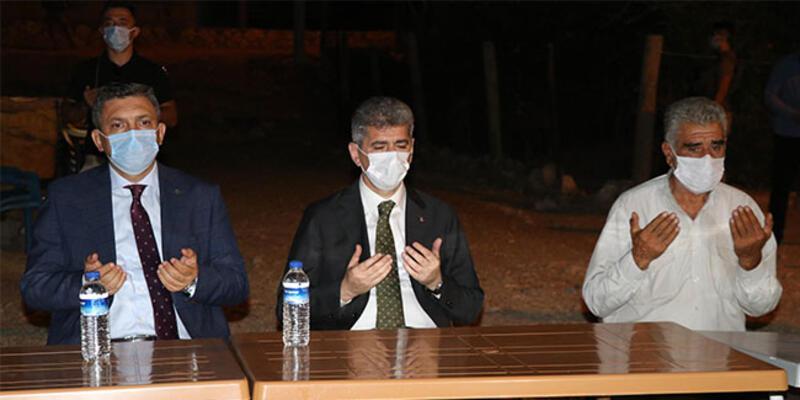 İçişleri Bakan Yardımcısı Muhterem İnce'den taziye ziyareti