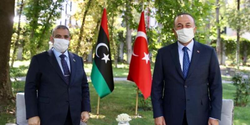 Son dakika.. Çavuşoğlu, Libya Yüksek Devlet Konseyi Başkanı ile görüştü