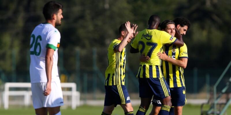 Fenerbahçe 1-1 Alanyaspor MAÇ ÖZETİ