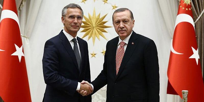 Son dakika haberi: Cumhurbaşkanı Erdoğan, NATO Genel Sekreteri ile görüştü