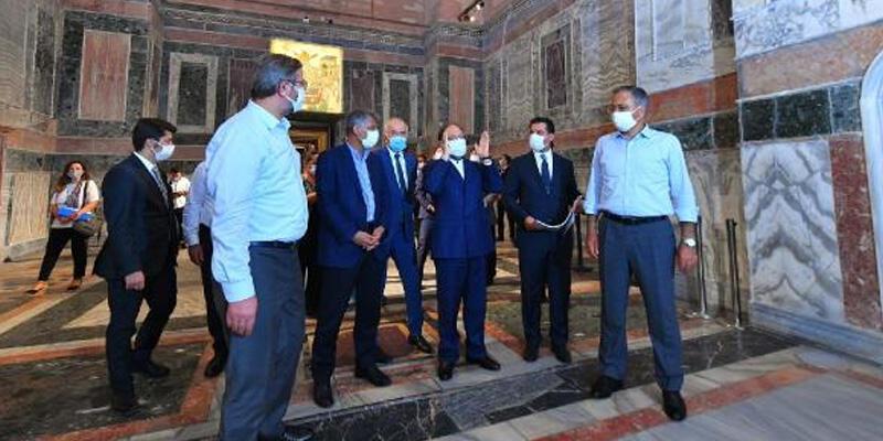 Vali Yerlikaya Kariye Camii'ndeki çalışmaları inceledi