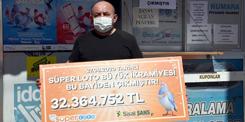 32 milyon liralık ikramiyeisabet eden kuponun oynandığı bayi: Müşterilerimiz daha mutlu