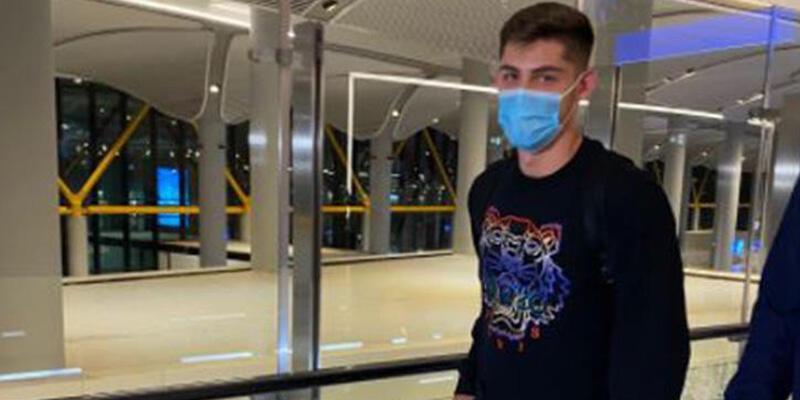 Beşiktaş'ın yeni transferi Montero İstanbul'a geldi