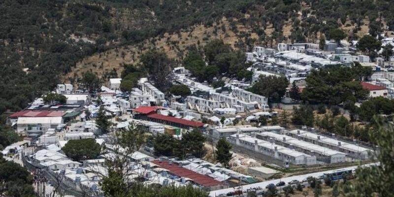 Yunanistan'daki Moira Mülteci Kampı'nda ilk koronavirüs vakası