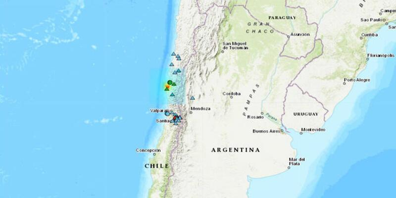 Son dakika... Şili'de bir haftada ikinci büyük deprem
