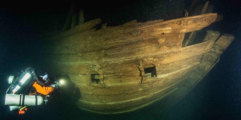 Dalgıçlar derinlere daldı! 400 yıllık gemi keşfedildi
