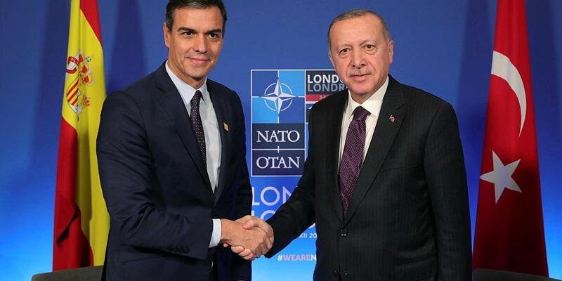 Son dakika haberi: Erdoğan, İspanya Başbakanı Sanchez ile görüştü