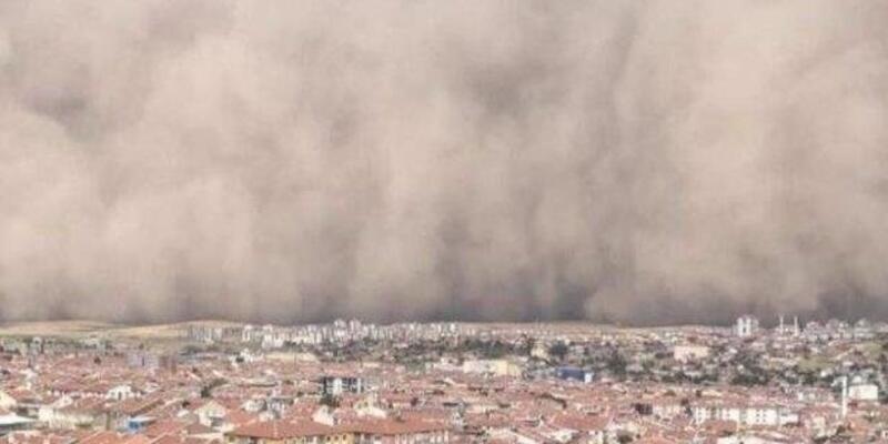 Kum fırtınası nasıl neden oluşur? Ankara'daki kum fırtınasının sebebi ne? Kum fırtınası Ankara Konya Yozgat İstanbul!