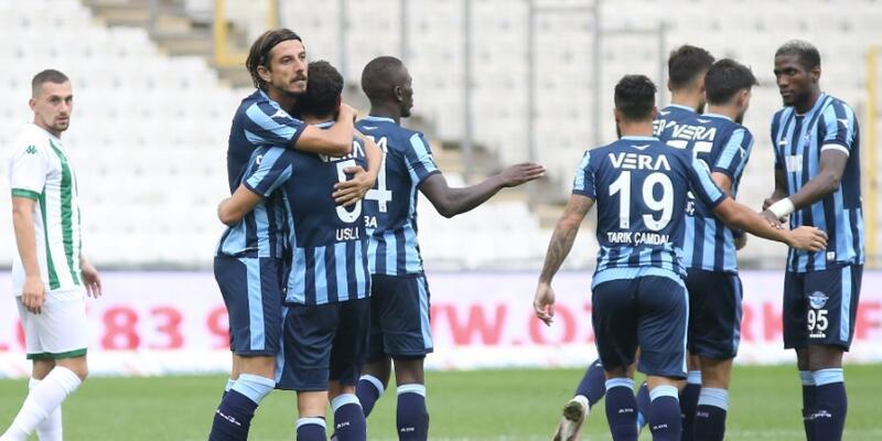 Bursaspor 1-3 Adana Demirspor MAÇ ÖZETİ