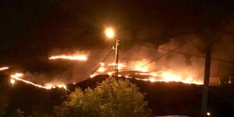 Son dakika haberi: Gökçeada'da meralık alanda yangın çıktı