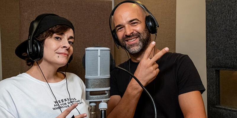 Murat Evgin ve Ayben Kanal D için mikrofon başına geçti