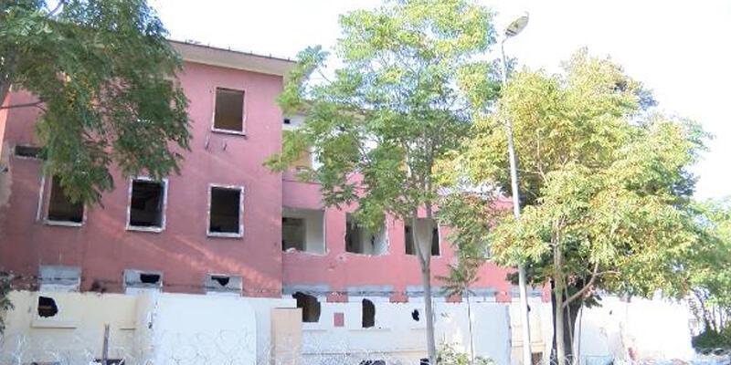 Haseki Eğitim ve Araştırma Hastanesi'nin Fatih'teki binası yıkılıyor