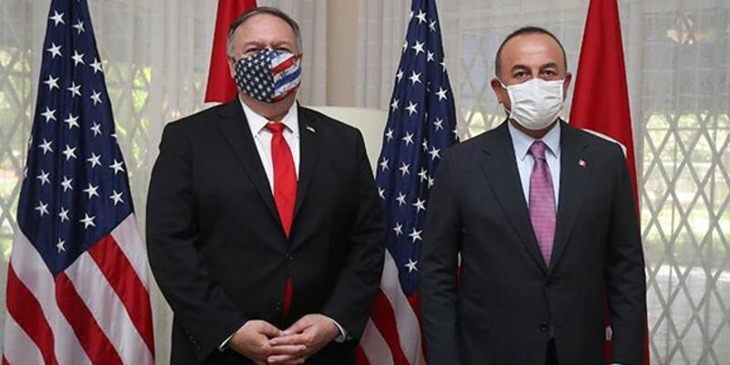Son dakika haberi: Dışişleri Bakanı Çavuşoğlu, Pompeo ile görüştü