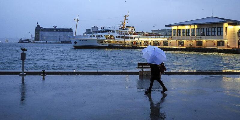 Son dakika.. Türkiye cuma günü yağışlı havanın etkisine girecek