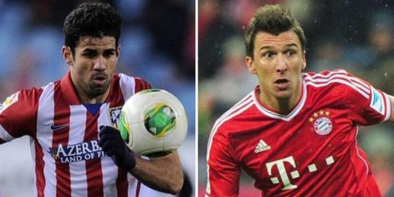 Mandzukic ve Diego Costa yalanlandı