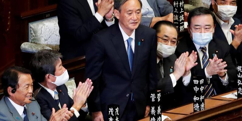 Japonya başbakanlığına Yoshihide Suga seçildi