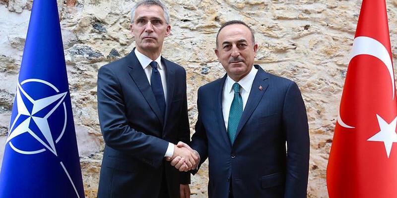 Son dakika: Bakan Çavuşoğlu, Stoltenberg ile görüştü