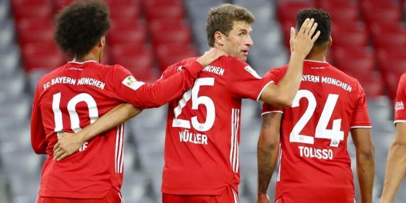 Bayern Münih'ten 8 gollü açılış