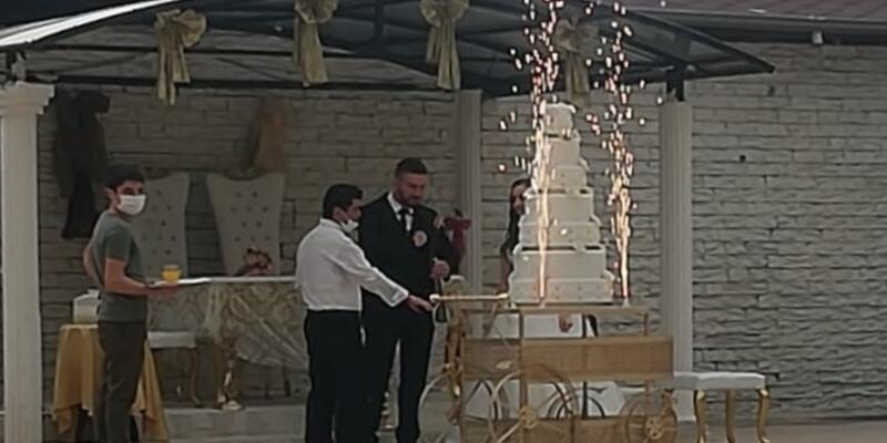 Son dakika... Karantinada olması gerekirken düğün salonunda çalışan sanığa hapis istemi