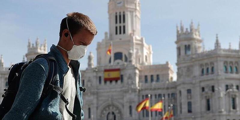 İspanya'da son 24 saatte 2 bin 957 yeni koronavirüs vakası
