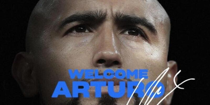 Son dakika... Arturo Vidal resmen Inter'de!