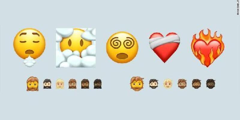 Telefon emojilerine koronavirüs ayarı