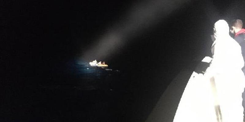 Muğla'da 4 kaçak göçmen kurtarıldı