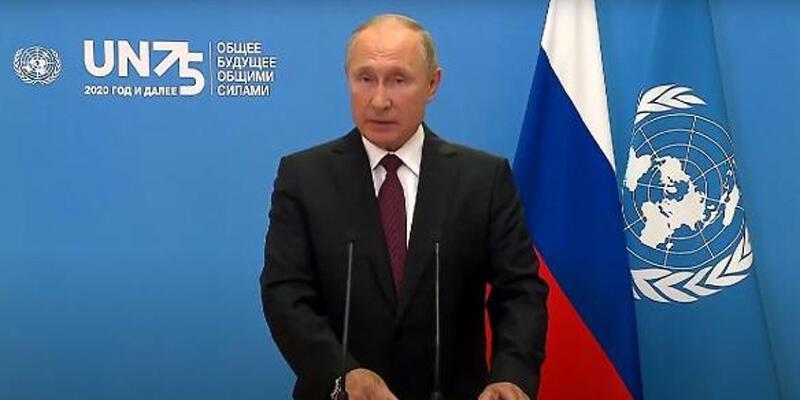 Putin'den BM Genel Kurulu'nda koronavirüs aşısı açıklaması