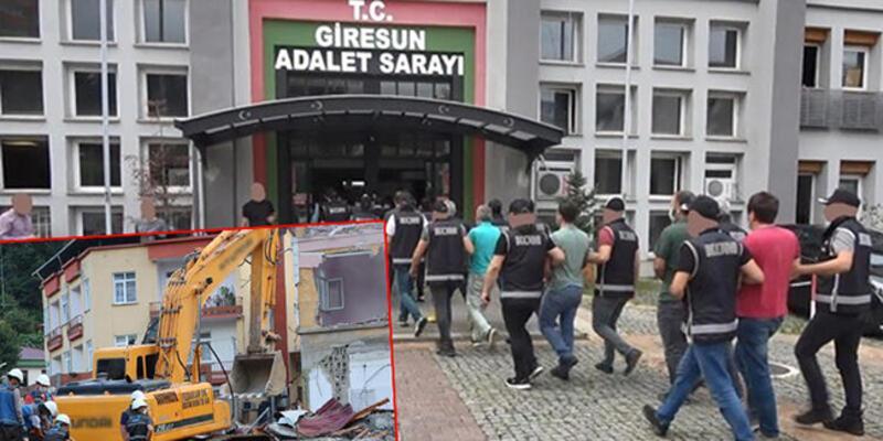 """Sel felaketinin vurduğu Dereli'de """"Tonyalılar"""" operasyonu"""