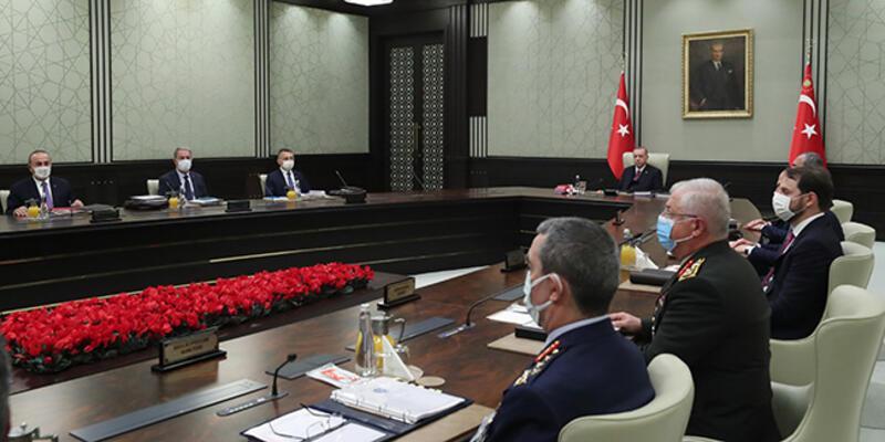 Son dakika... Milli Güvenlik Kurulu toplandı