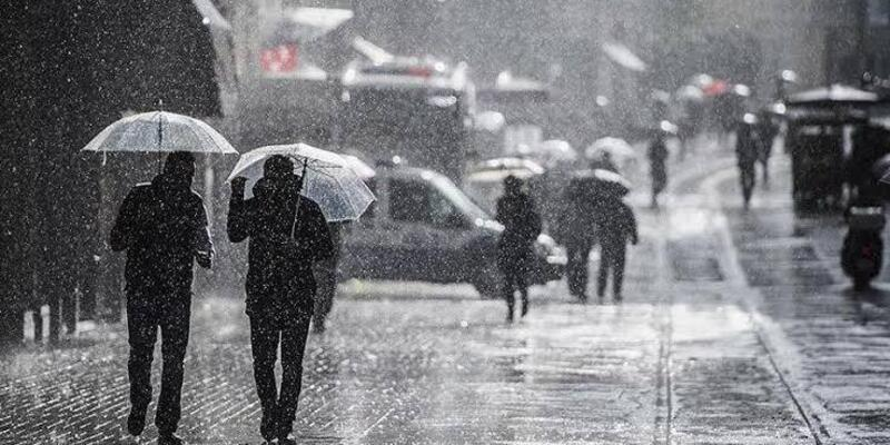 25 Eylül hava durumu: Meteoroloji'den sağanak yağış uyarısı