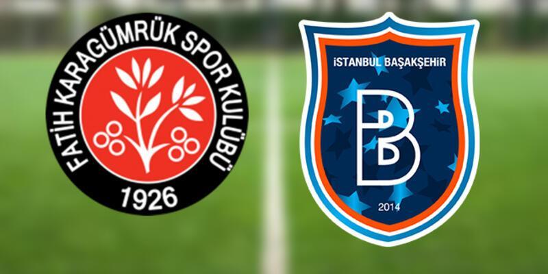 Fatih Karagümrük Başakşehir maçı hangi kanalda canlı izlenecek, maç ne zaman, saat kaçta?