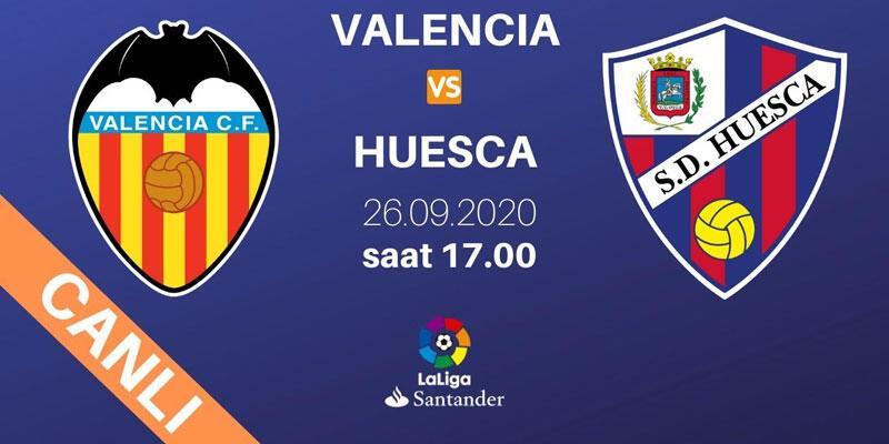 Valencia-Huesca La Liga maçı D Smart şifresiz canlı izle
