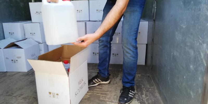 2 bin 500 litre kaçak içki ele geçirildi