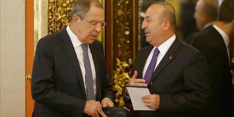 Son dakika... Dışişleri Bakanı Çavuşoğlu, Rus mevkidaşı Lavrov ile görüştü
