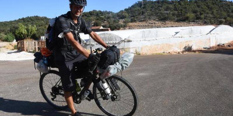 Son dakika.. Alman bisiklet ustasından Türkiye turu