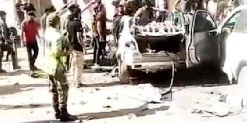 Son dakika.. Afrin'de bomba yüklü araçla saldırı: 2 yaralı