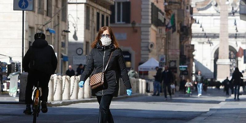 İtalya'da son 24 saatte 2 bin 548 yeni koronavirüs vakası