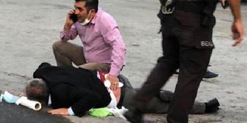 Fabrikadan çıkan işçi, sokak ortasında sırtından vuruldu