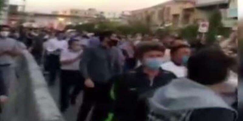 İran'ın kuzeyinde Azerbaycan gösterisi!
