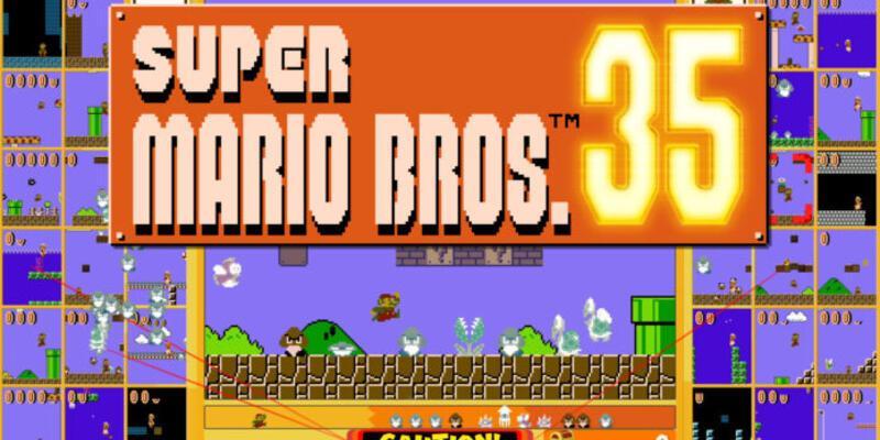 Super Mario Bros. 35 oyunu ücretsiz olarak çıkışını gerçekleştirecek