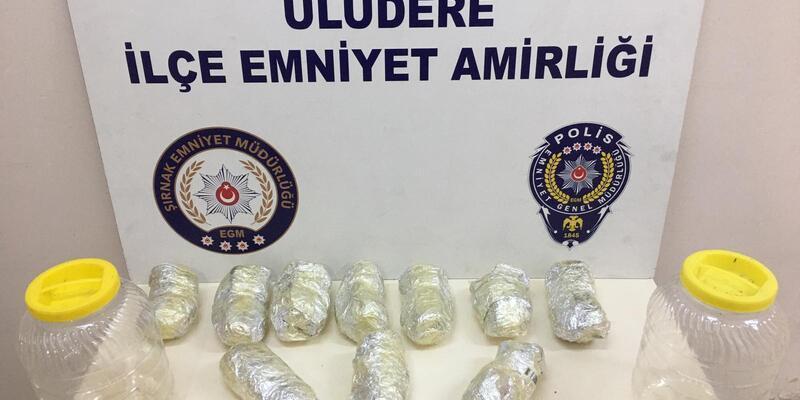 Şırnak'ta 48 kilo uyuşturucu madde ele geçirildi