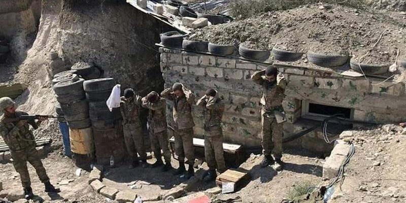 Son dakika... Azerbaycan Ordusu, Dağlık Karabağ'da bir grup Ermeni askeri esir aldı