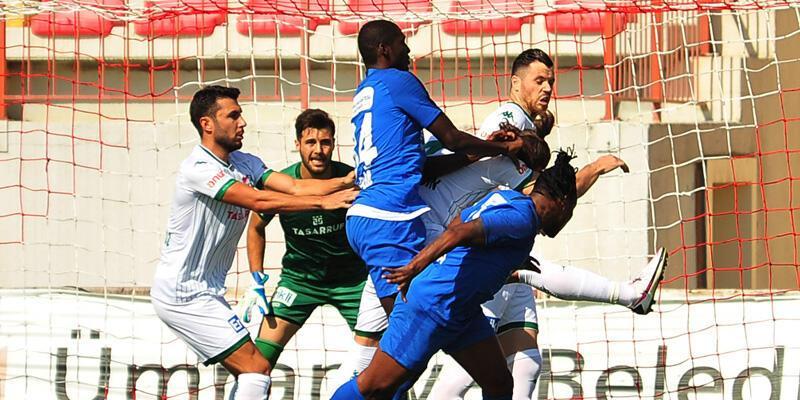 Tuzlaspor - Bursaspor: 3-3