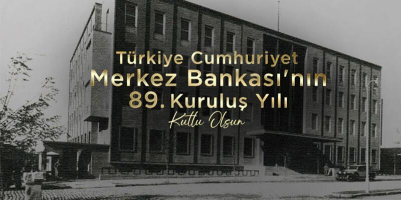 Merkez Bankası 89 yaşında